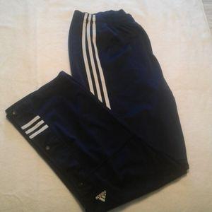 Adidas men's warm up pants athletic size L
